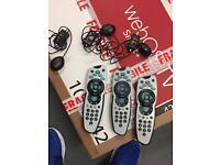 Sky tv remotes and magic eyes