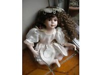 FLOWER FAIRY CHINA DOLL 12X9X6 INCHES