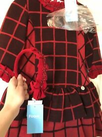 Boutique style dresses, never worn. Age 6
