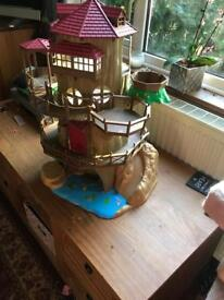 Sylvanian families Oak tree house