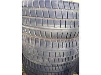 5 Winter tyres 225/45R17 (part-worn)