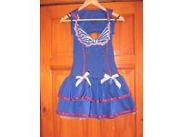 ladies sailor costume size 10