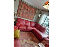 Corner Sofa And Matching Two Seater