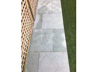 Paving - Strata Venetian paving is smooth limestone, lightly sandblasted provide a non slip texture.