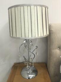 Stunning glass bead lamp - NEW