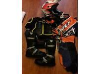 Motocross safety gear