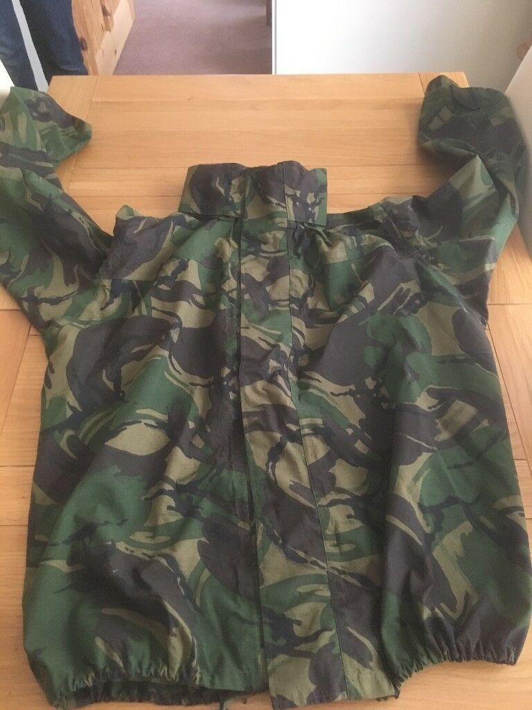 df160078950d4 ex army camouflage water proof jacket | in Gorleston, Norfolk | Gumtree