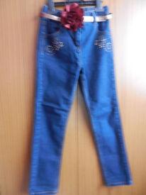 Tu Girls Blue Denim Jeans