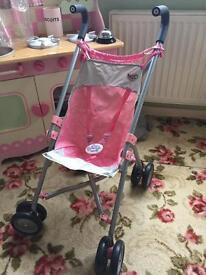 Baby Born stroller/Pushchair