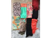 Selection of scarves- charity