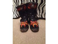 New Rock Flame Boots like new!