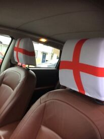World Cup 2018 England Flag Car Headrest Covers. Only 7 available