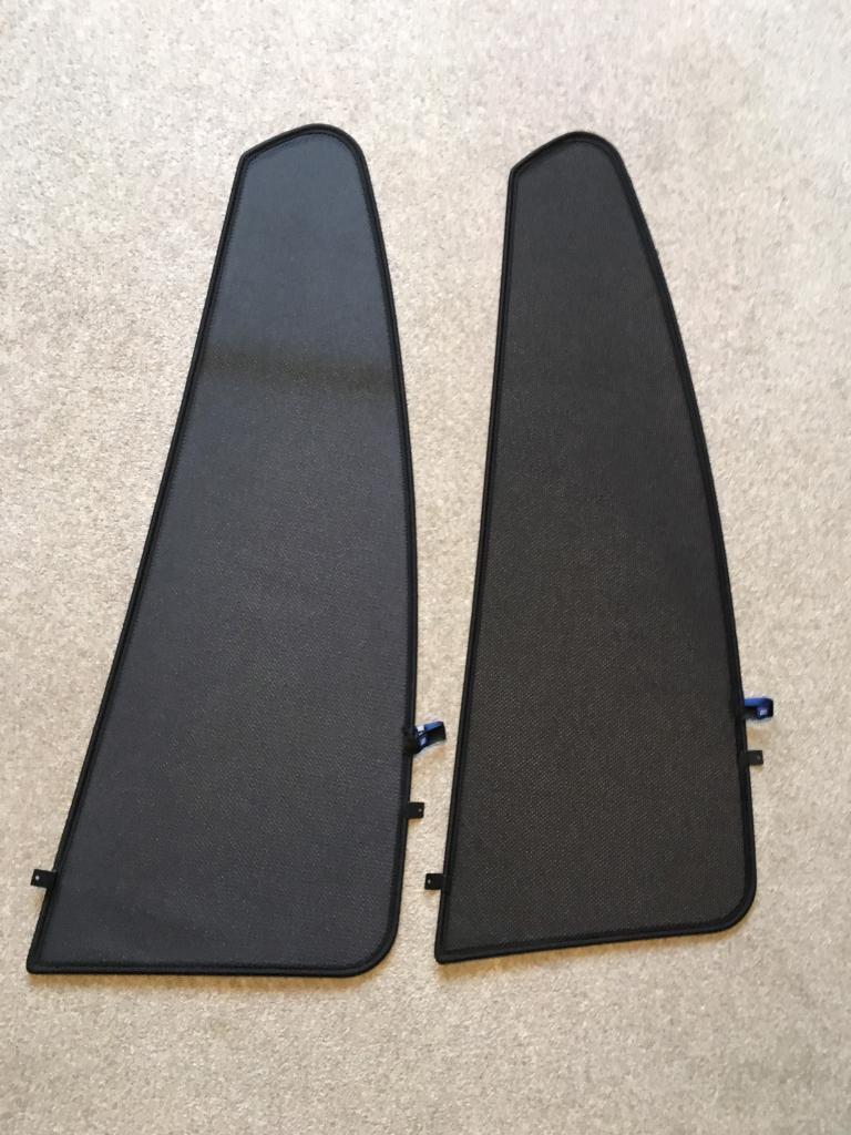 Vauxhall insignia rear window sun shades pair genuine