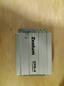 4 channel small car amplifier