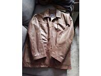 Austin Reed Leather Mens Jacket