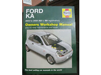 Haynes manual for Ford KA 2003 - 2008