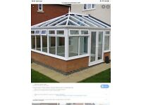 Polycarbonate conservatory roof
