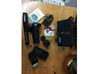 Canon EOS 550D with FULL KIT see pictures