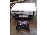 Xbox360 console working /comes with controller and all the bits / FOR SALE OR SWAP