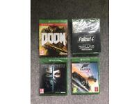 Xbox one games Brand new