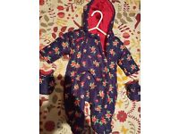 New born snowsuit (brand new)