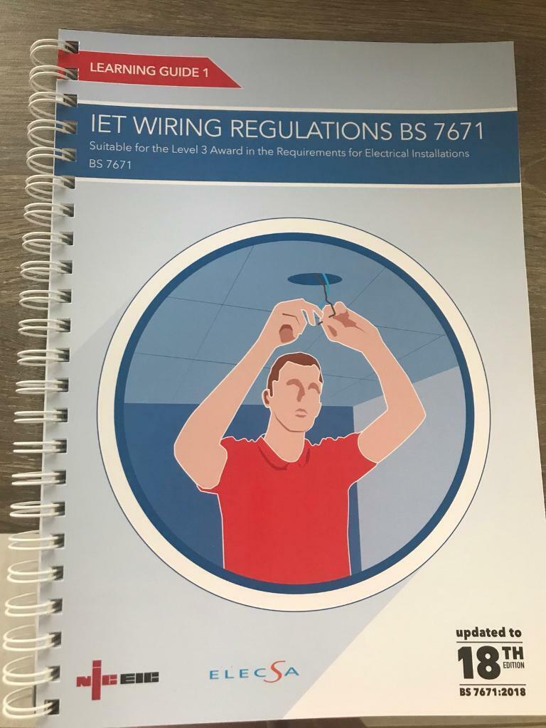 Strange Iet Wiring Regulations Bs 7671 Book 18Th Edition In Norwich Norfolk Wiring 101 Jonihateforg