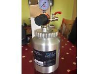 Air paint pressure tank