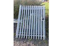 GALVANISED STEEL COMMERCIAL / YARD GATES