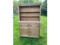 Victoria pine farmhouse dresser