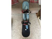 Snowboard and Bindings with Bag - Brand New - £100