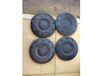 VW t5 wheels with Michelin tyres (set of 4)