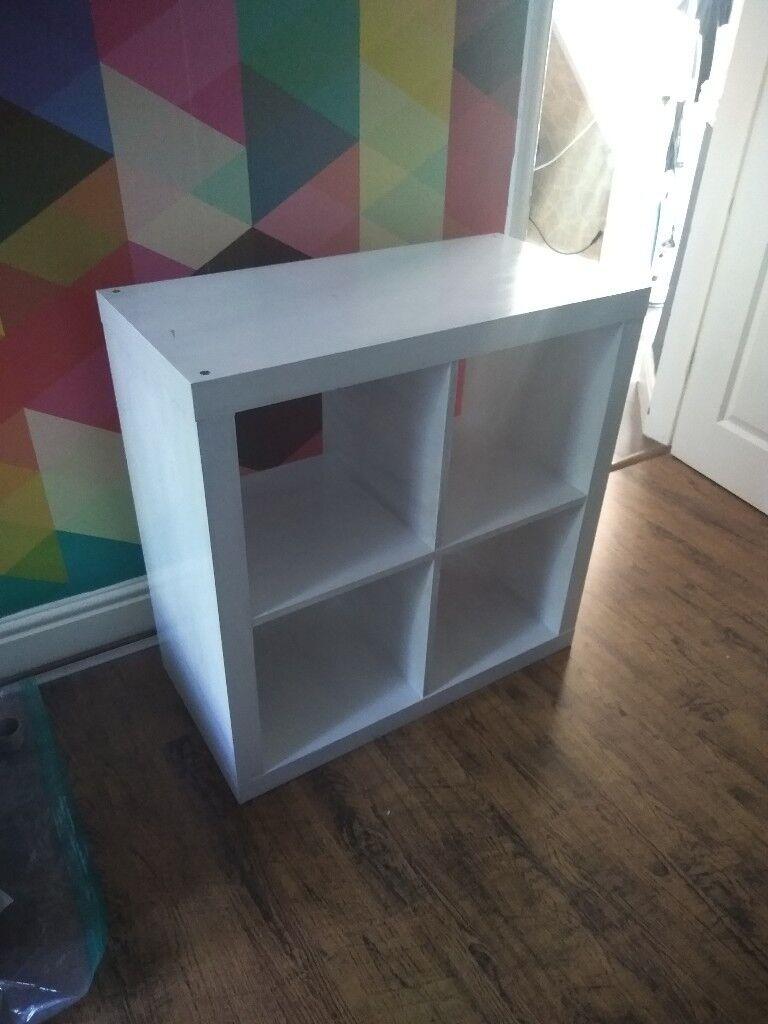 sale retailer d015a 3fee0 Ikea Expedit / Kallax storage cubes / bookcase painted white   in  Wavertree, Merseyside   Gumtree