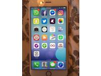 iPhone 6s Plus in rose gold.