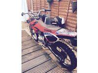 Honda crf100cc