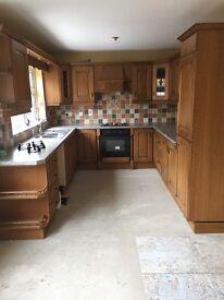 Hob, oven & fridge freezer for sale