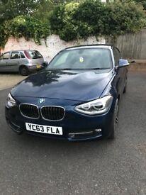 BMW 1 SERIES 120D SPORT £6995 ONO