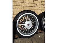 """BMW alpina style alloy wheels 18"""" inch. 1 2 3 4 5 6 7 8 series z4 z3"""