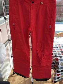 O,neill ski trousers 42 waist