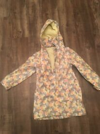 Girls m&s raincoat 6-7 yrs