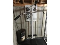 Lat pull down/ tricep push down and attachments