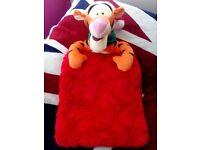 Tigger Christmas red sack/ stocking bag