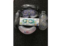 Job Lot of 6x swimming goggles (Olympic Nation, Aqua Sphere, Cressi, Swimtastic, Speedo)