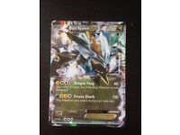 Pokemon Card - BLACK KYUREM EX (BW11 Legendary Treasures #100/113) NEW!
