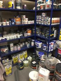 Paints indoor and outdoor