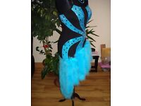Latin dance dress size 8-10