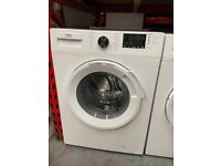 10KG WHITE BEKO GRADED WASHING MACHINE NOT USED