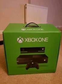 Xbox One Console Boxed with Kinect & 2 Games