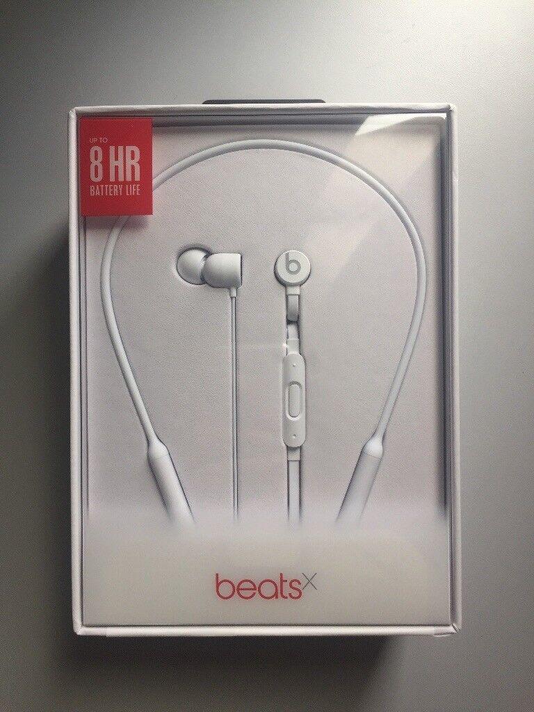 3fdea53f58c Beats by Dr. Dre BeatsX Wireless Earphones - White | in Cambridge ...