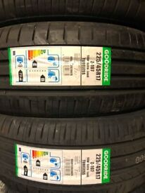 225/45/17 new budget tyres