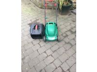 Hardly used Electrical lawnmower
